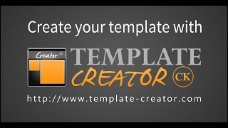 Template Creator CK 3 - Overview, simple demo, create your Joomla template in 8 minutes