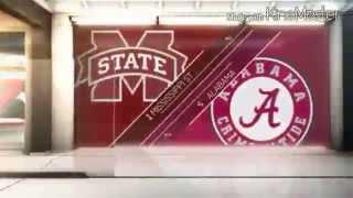 Alabama vs Mississippi State 2014 Highlights
