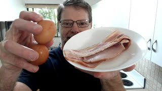 Cooking Bacon and Eggs For Breakfast Live Stream thumbnail