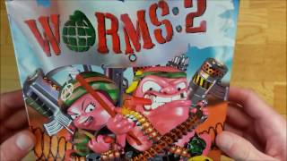 Worms 2 (PC Big box) Unboxing