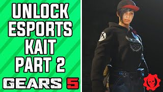 GEARS 5 Multiplayer - How to Unlock Gears Esports Kait PART 2 (GEARS 5 Gears Esports Kait Character)