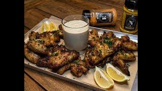 Chicken Wings mit Alabama White BBQ Sauce - Schickling Grill