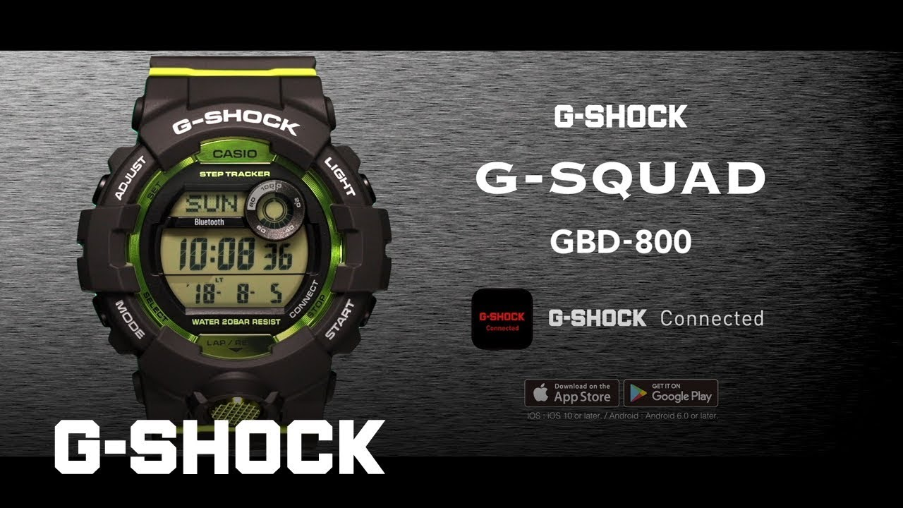 G-SQUAD GBD-800 product video (Horizontal ver.)   CASIO G-SHOCK ... 9c823867d2d