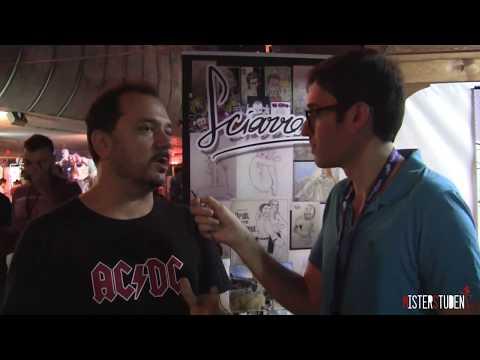 FantaExpo 2017 - intervista a Claudio Sciarrone