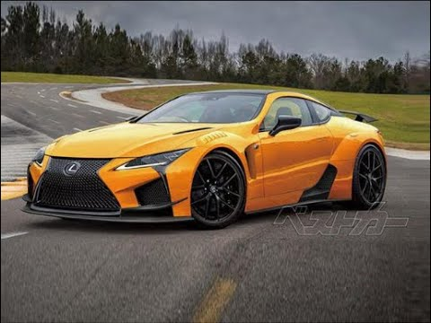 The new Lexus LC 500 SuperSport/ The Lexus LC500 Review and Price in Cambodia