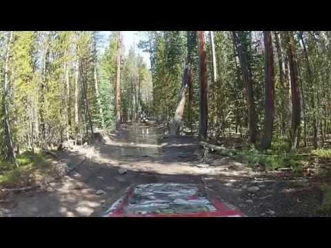 riding green ridge with Tracy Lind