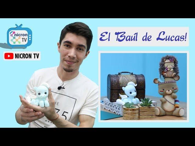 El Baúl de Lucas NICRON TV - Como hacer un PONY - Pegazo-