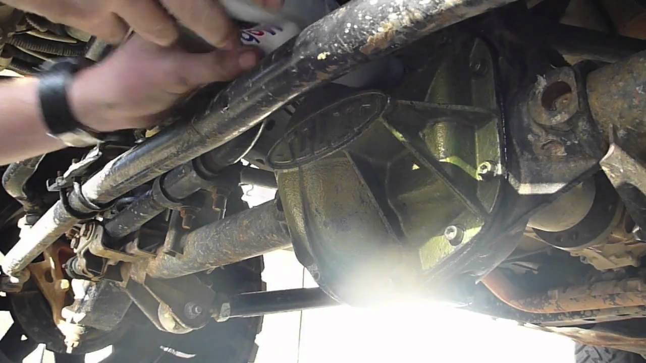 Jk Adventure Com How To Changing Your Differential Fluid