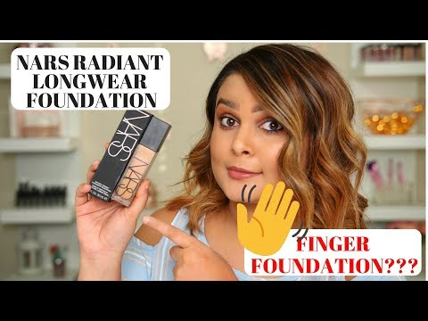 NARS NATURAL RADIANT LONGWEAR FOUNDATION HONEST & DETAILED REVIEW, DEMO & WEAR TEST