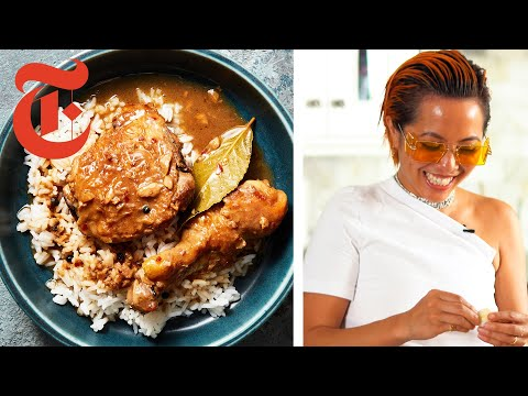 How to Make Filipino Coconut Milk Chicken Adobo | NYT Cooking