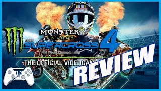Monster Energy Supercross 4 Review - Eating Dirt! (Video Game Video Review)
