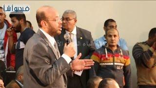 مداخلات الصحفيين مع وزير الداخلية خلال الإعلان عن المسئول عن اغتيال المستشار هشام بركات