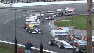 ISMA Supermodifieds Seekonk Speedway Racing Against Cancer 100 feat. pt1 10.02.11