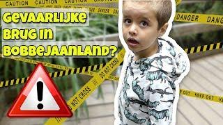 BOBBEJAANLAND ONVEILIG MAKEN !! - Broer en Zus TV VLOG #177