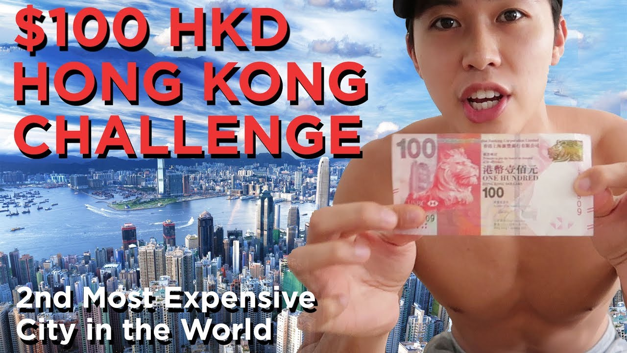 THE $100 HKD CHALLENGE (13 USD)| HOW FAR WILL IT GET ME IN HK | (PART 1) - YouTube