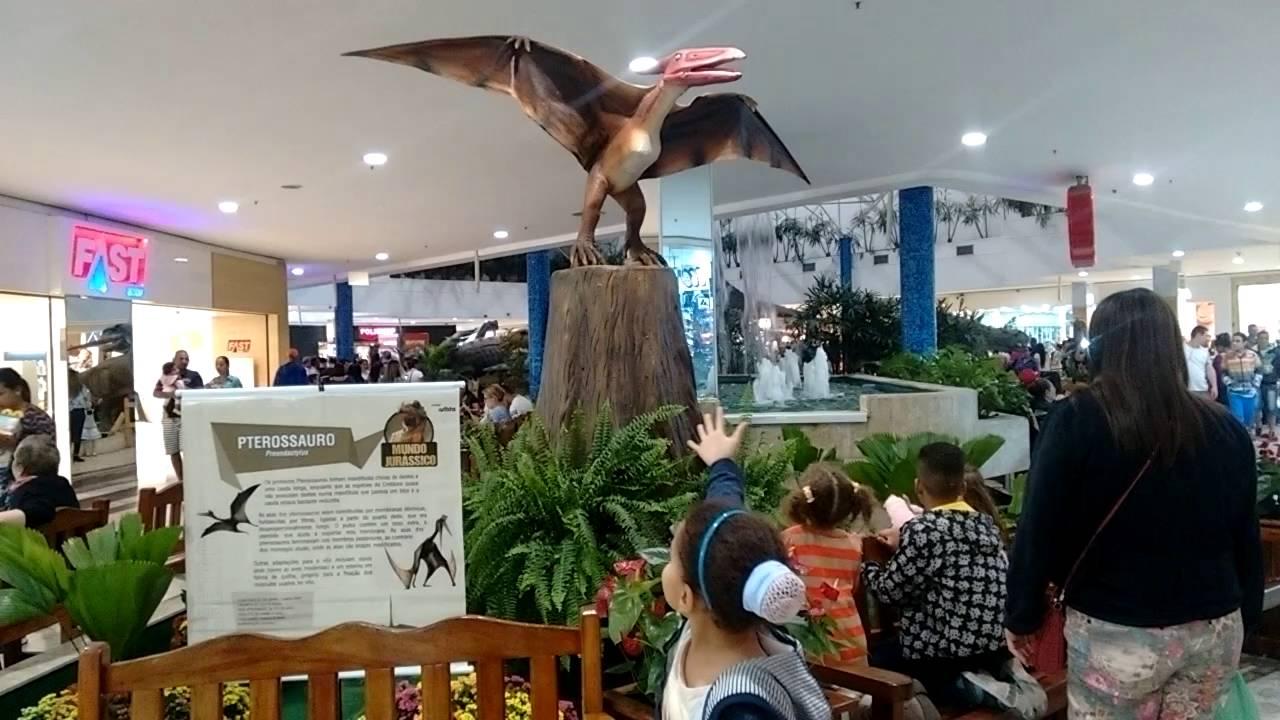 Exposição de dinossauros no shopping Interlagos..(3) - YouTube de18d15553