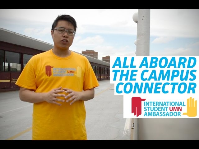 All aboard theCampus Connector!
