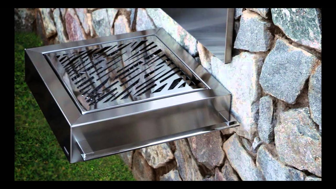 Barbacoas econ micas de acero inoxidable para exteriores - Chimeneas de acero ...