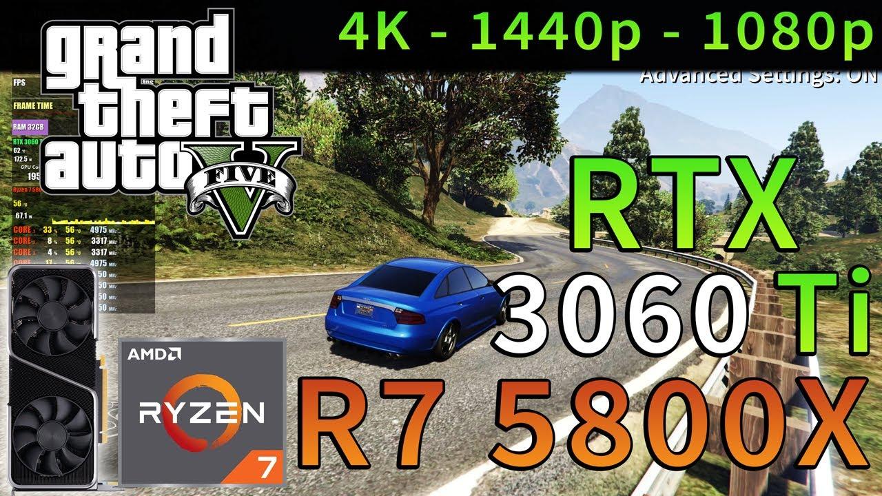 GTA 5 | RTX 3060 Ti | Ryzen 7 5800X | 4K - 1440p - 1080p | Ultra Settings