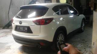 Mazda cx 5 add electric back door & camera 360 around view