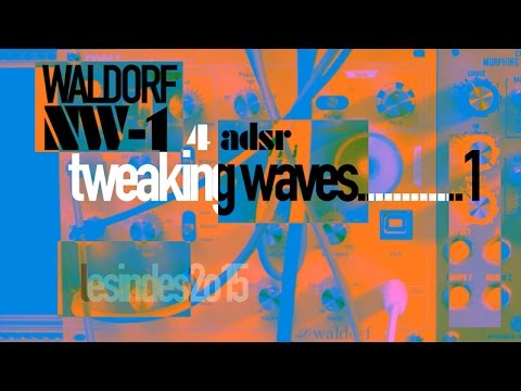 [DEMO]  WALDORF NW-1// TWEAKING WAVES // w BEATSTEP Pro