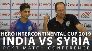 India should be scared of everyone & not only teams from POT 1 - Igor Stimac