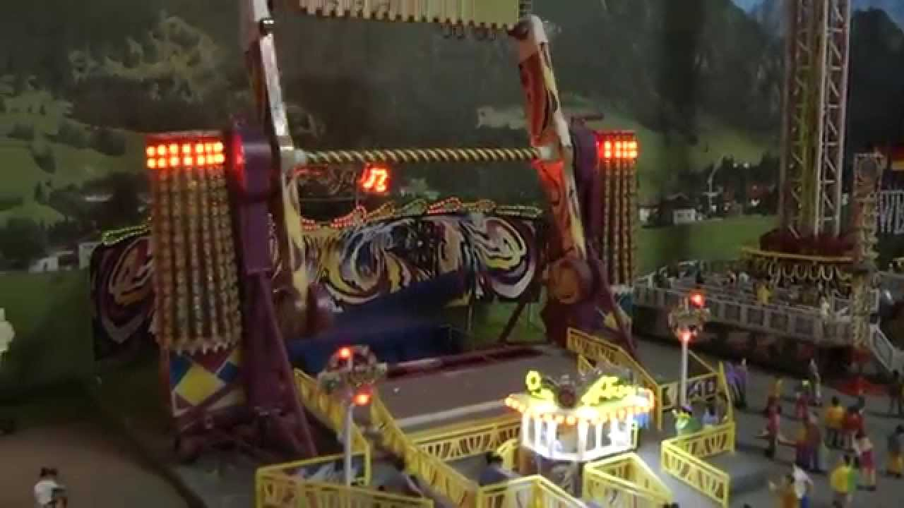 Wolfgangs Kirmes Faller Volmer Im Bau Mit Led Beleuchtung Auf Der Modellbahn Youtube