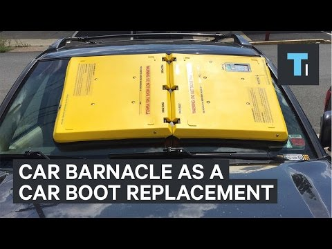 Car Barnacle Is A Car Boot Replacement