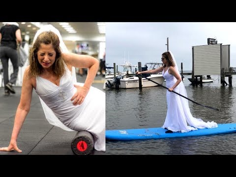 Single Woman Takes Online Dating Photos In Wedding Dress To Find 'The One'