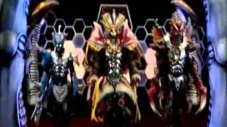 mighty morphin power rangers megaforce opening v1