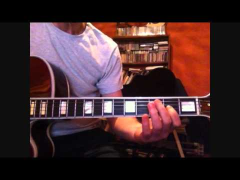 I cover the waterfront - Gibson Custom Shop Wes Montgomery L-5 CES