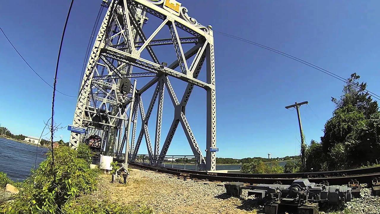 Cape Cod Canal Train Bridge In Operation Youtube