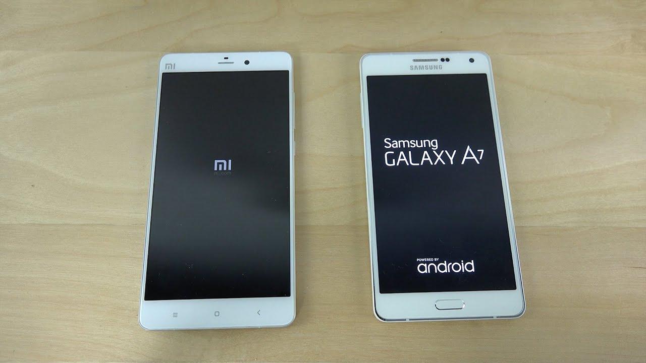 Xiaomi Mi Note Vs Samsung Galaxy A7