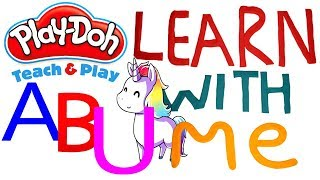Play Doh Alphabet animals! Woooow! It