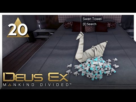 Let's Play Deus Ex: Mankind Divided Part 20 - Libuse Apartments [Stealth/Non-lethal PC Gameplay]