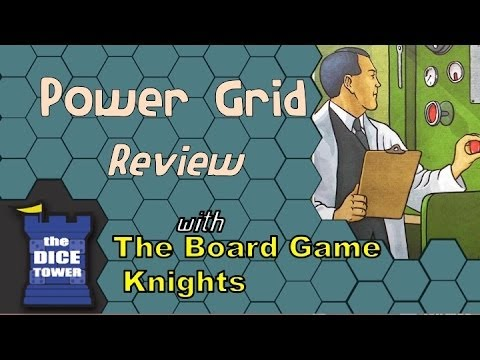 Power Grid Review - With The Board Game Knights