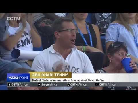 Rafael Nadal wins marathon final against David Goffin