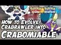 How to Evolve Crabrawler into Crabominable in Pokémon Sun and Moon