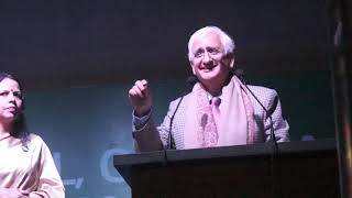 Salman Khurshid speaks during annual day celebrations of Delhi World Public School, Gr Noida