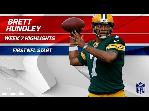 Brett Hundley Highlights from His First Start | Saints vs. Packers | Wk 7 Player Highlights