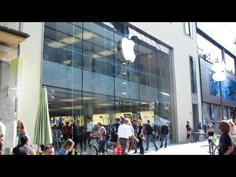 Apple Store München, Rosenstraße in Germany