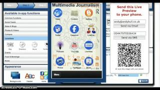 Creating a smartphone app with AppMakr