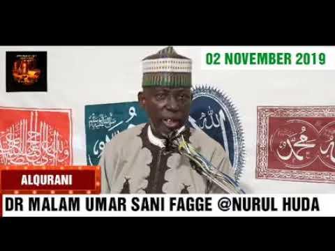 Download Wa,azin Malam umar sani fage/