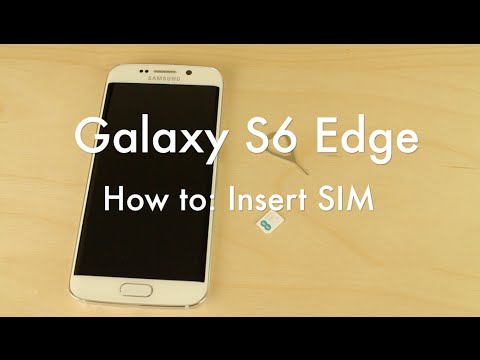 how to open samsung phone to get sim card