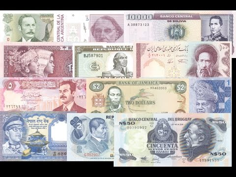 World Bank Notes / Currency COLLECTION