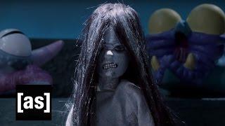 Aaahh!!! Real Monsters Meet Samara | Robot Chicken | Adult Swim