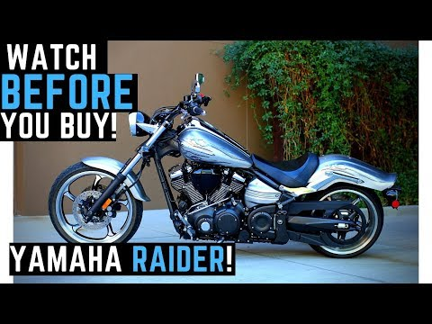 Watch BEFORE Buying a Yamaha Raider: 0-100 mph, Ride, Review, Impressions, Walk Around, SkatePark?