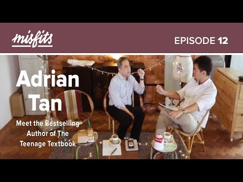 Adrian Tan (Full) | Meet the Bestselling Author of The Teenage Textbook