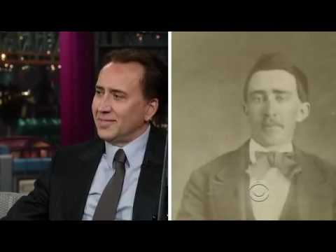 Nicolas Cage - Interview with Letterman (2012) [Full]
