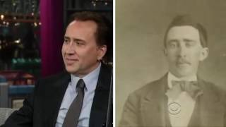 Nicolas Cage Interview with Letterman (2012)